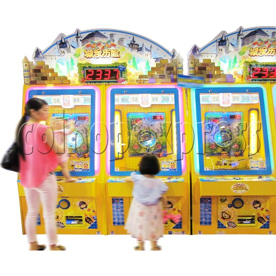Adventure Castle Coin Pusher Ticket machine (2 players) 34077