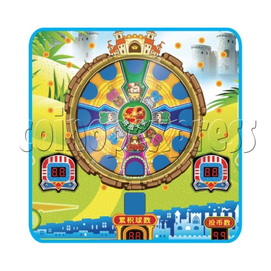 Adventure Castle Coin Pusher Ticket machine (2 players) 34078