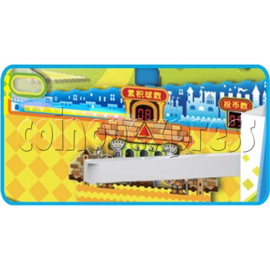 Adventure Castle Coin Pusher Ticket machine (2 players) 34079