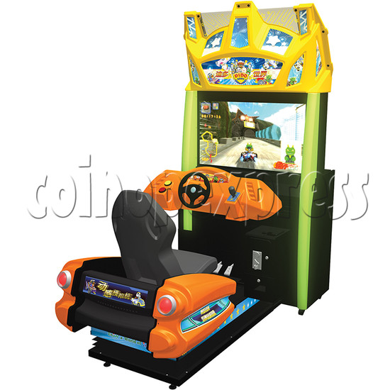 Dido Kart Air Kid Simulator Video Racing Game Machine 34112