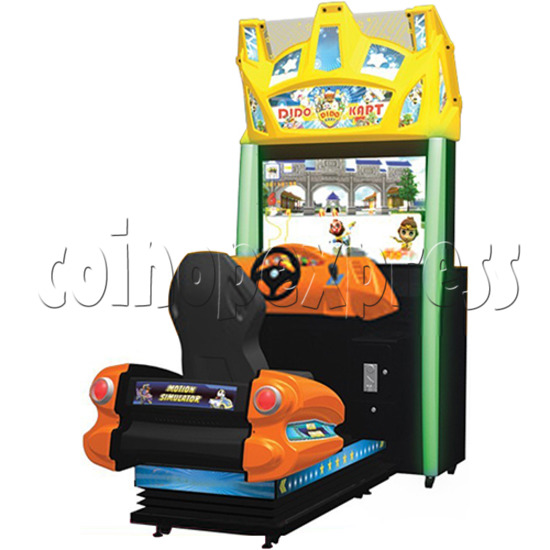 Dido Kart Air Kid Simulator Video Racing Game Machine 34113