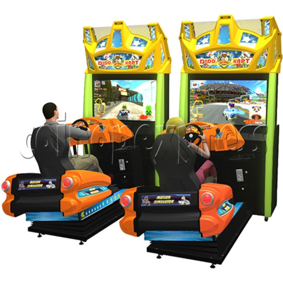 Dido Kart Air Kid Simulator Video Racing Game Machine 34115
