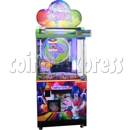 Candy Typhoon  Grabber Prize Machine (Button Version) 34138