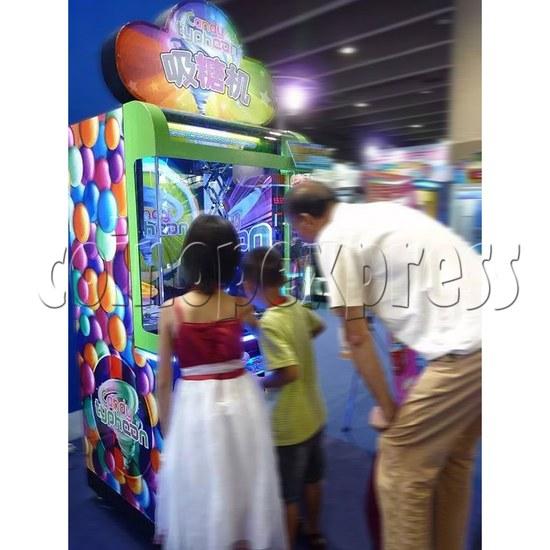 Candy Typhoon  Grabber Prize Machine (Button Version) 34139