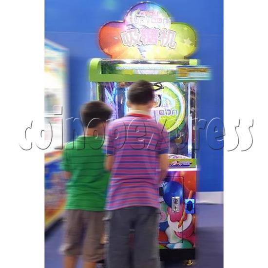 Candy Typhoon  Grabber Prize Machine (Button Version) 34140