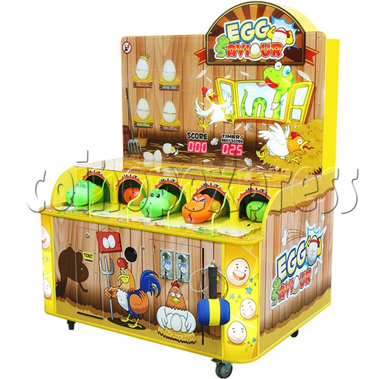 Egg Saviour Hammer Game Ticket Machine  34145
