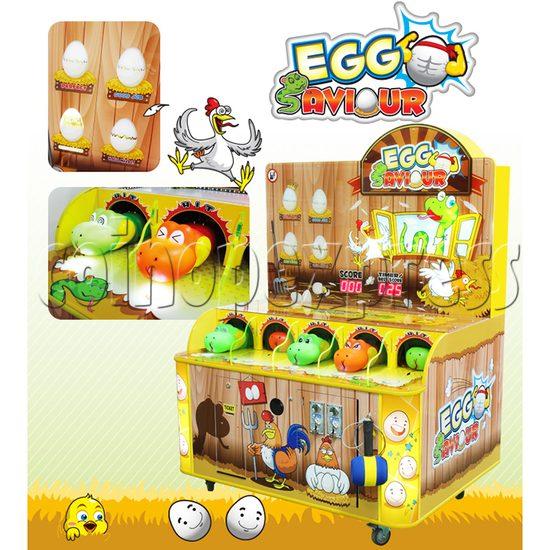 Egg Saviour Hammer Game Ticket Machine  34148