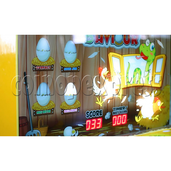 Egg Saviour Hammer Game Ticket Machine  34149