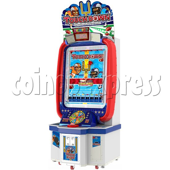 Touch Down Ball Drop Game Ticket Redemption Machine  34182