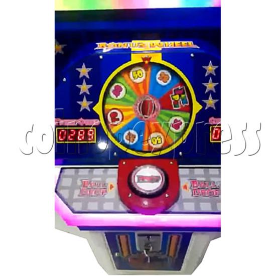 Touch Down Ball Drop Game Ticket Redemption Machine  34185