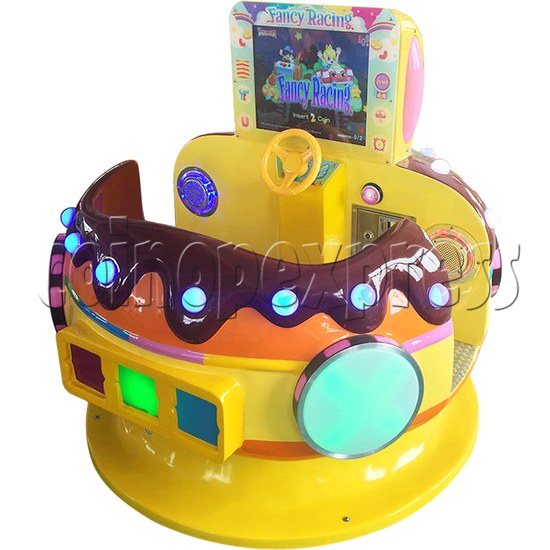 Chocolate Car Video Kiddie Ride (2 Players) 34207