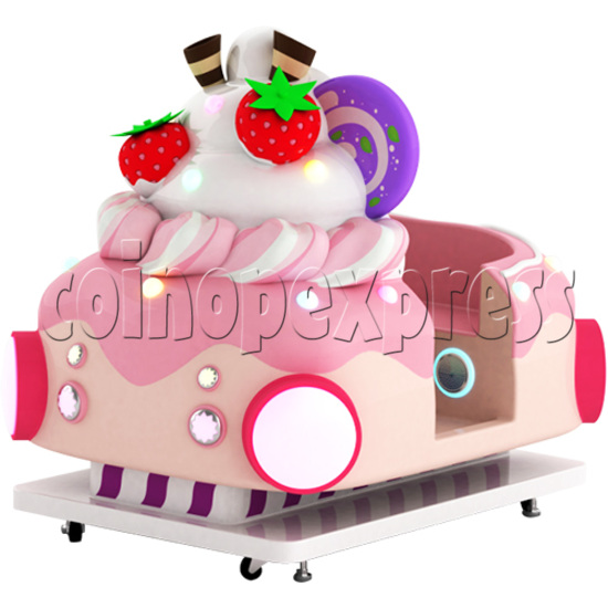 Ice Cream Car Kiddie Ride with Video Game(2 Players) 34208
