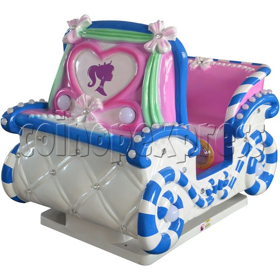 Princess Carriage Kiddie Ride With Video Game For 2 Players 34210