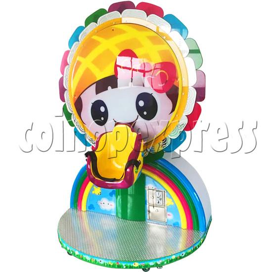 Mini Rainbow Flying Wheel Rotating Kiddie Ride 34215