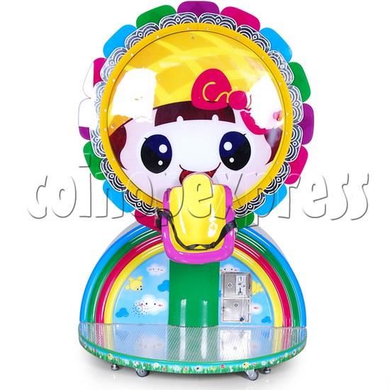 Mini Rainbow Flying Wheel Rotating Kiddie Ride 34216