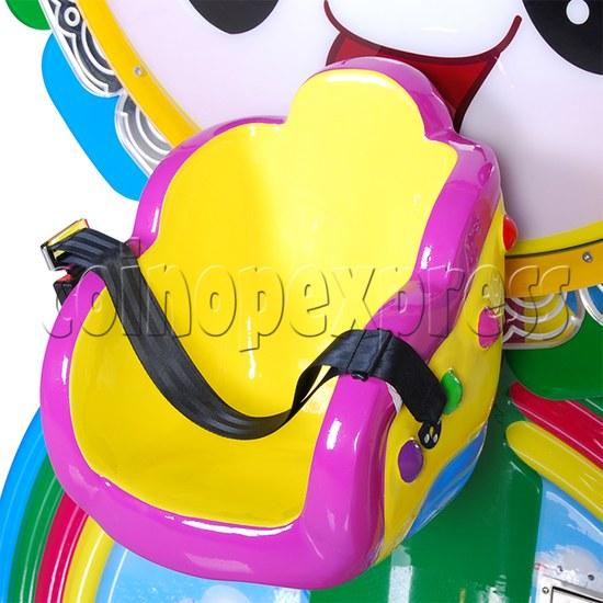Mini Rainbow Flying Wheel Rotating Kiddie Ride 34218