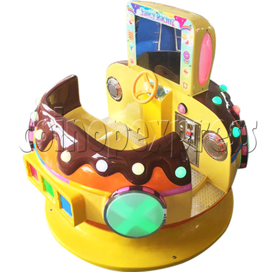 Chocolate Car Video Kiddie Ride (2 Players) 34220
