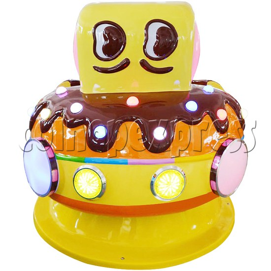 Chocolate Car Video Kiddie Ride (2 Players) 34221
