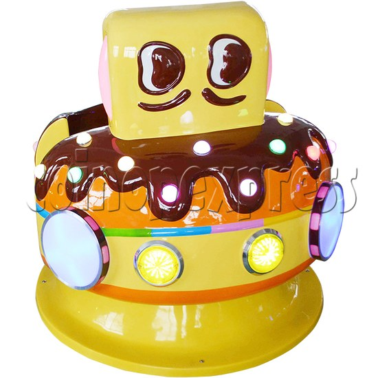 Chocolate Car Video Kiddie Ride (2 Players) 34222