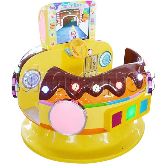 Chocolate Car Video Kiddie Ride (2 Players) 34223