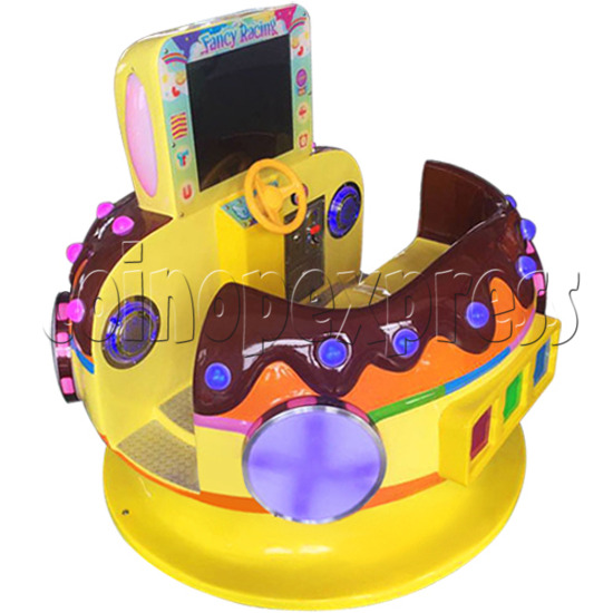 Chocolate Car Video Kiddie Ride (2 Players) 34224
