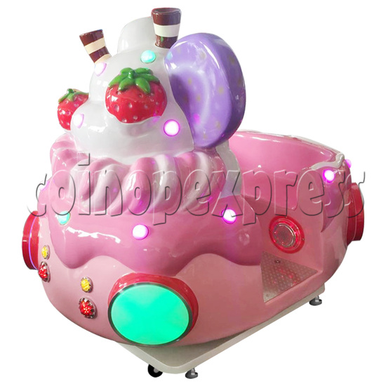 Ice Cream Car Kiddie Ride with Video Game(2 Players) 34225