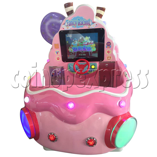 Ice Cream Car Kiddie Ride with Video Game(2 Players) 34229