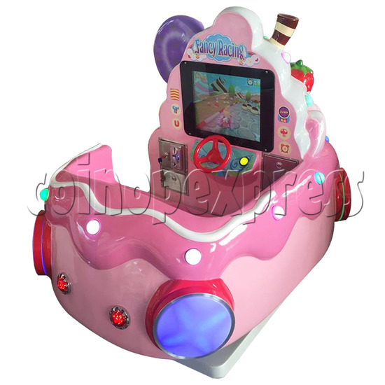 Ice Cream Car Kiddie Ride with Video Game(2 Players) 34232