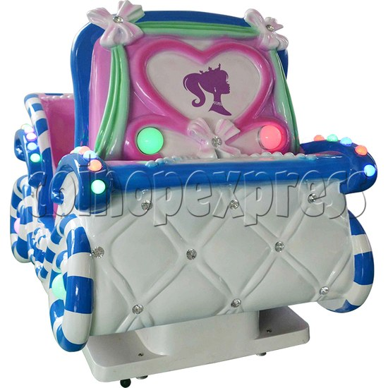 Princess Carriage Kiddie Ride With Video Game For 2 Players 34234