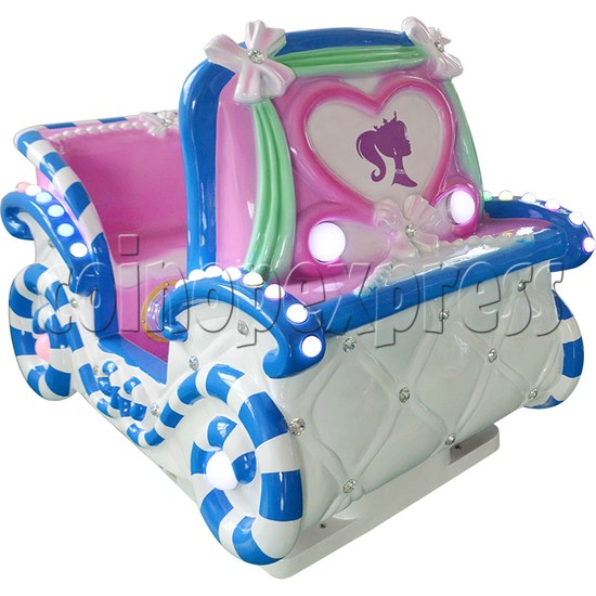 Princess Carriage Kiddie Ride With Video Game For 2 Players 34235