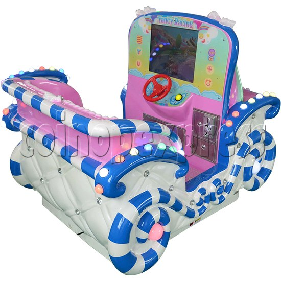 Princess Carriage Kiddie Ride With Video Game For 2 Players 34236