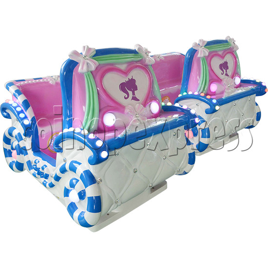 Princess Carriage Kiddie Ride With Video Game For 2 Players 34237