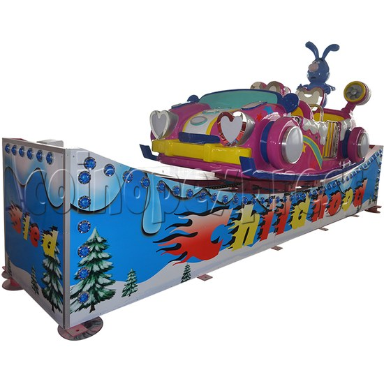 Flying Skiing Car Adventure Park Ride (9 players) 34245