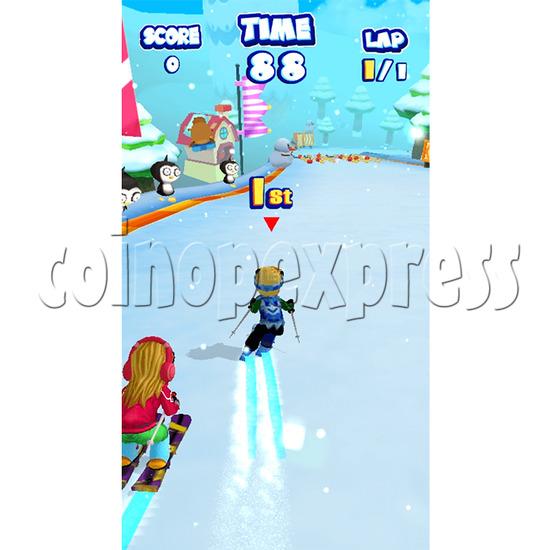 Ski Racer Skiing Sport Game 34266