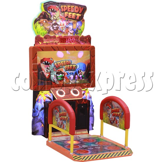 Speedy Feet Video Game Redemption Machine  34290