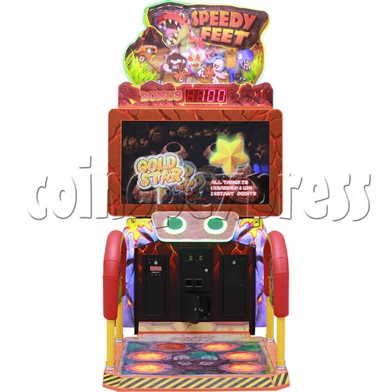 Speedy Feet Video Game Redemption Machine  34291