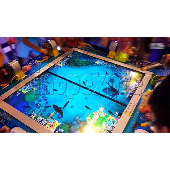 Deep Sea Story Fishing Arcade Machine 6 Players  (Fishing Reel Version)  34342