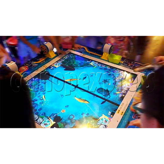 Deep Sea Story Fishing Arcade Machine 6 Players  (Fishing Reel Version)  34343