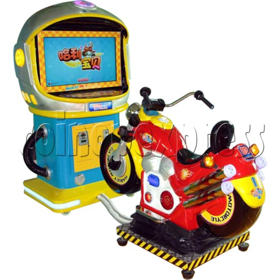 Mini Moto Kids Racing Game Machine  34348