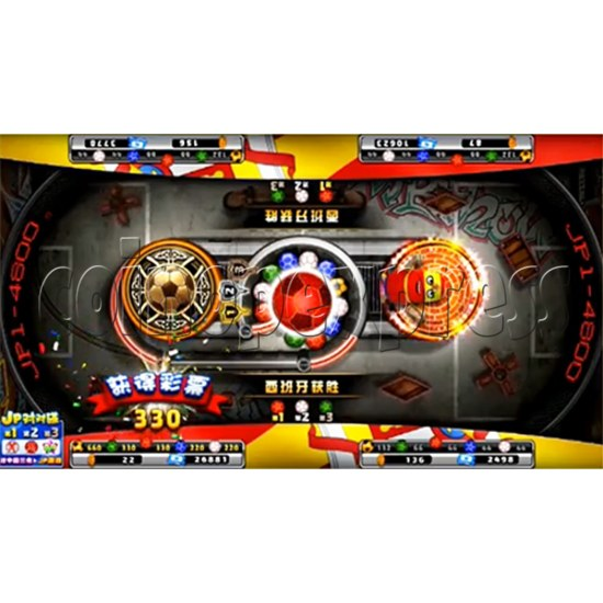 World Champion Video Redemption Machine - Two Machines Link-up (4 Players) 34370