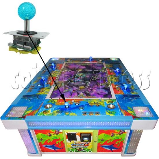 12V Illuminated Joystick for Fishing Game Machine 34538