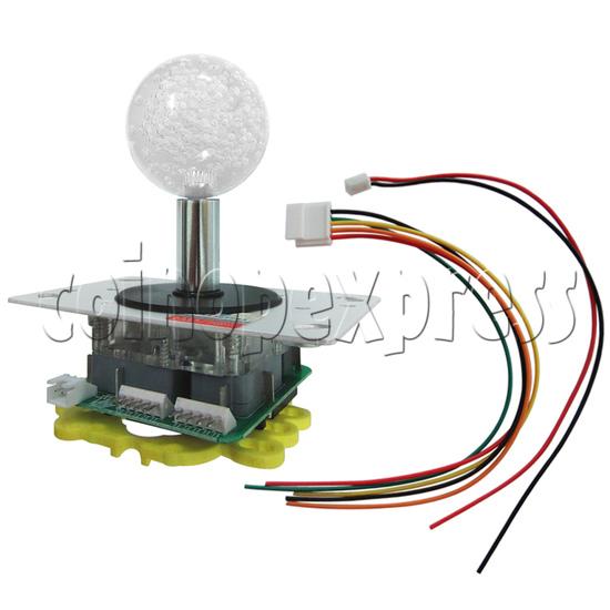 Multicolor Illuminated Joystick for Fishing Game Machine 34546