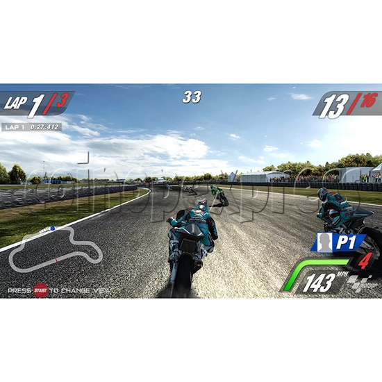MotoGP Video Arcade Racing Machine (with 42 inch LCD screen) 34559