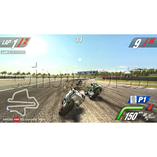 MotoGP Video Arcade Racing Machine (with 42 inch LCD screen) 34564