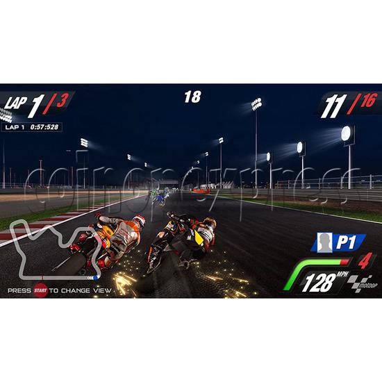 MotoGP Video Arcade Racing Machine (with 42 inch LCD screen) 34565
