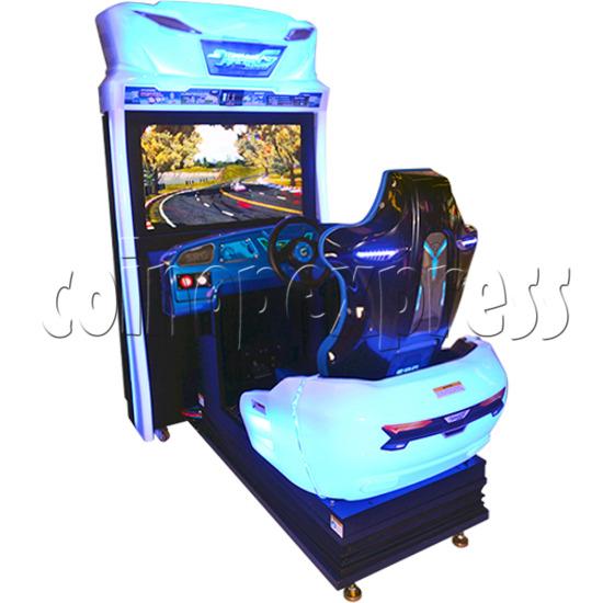 Storm Racer G Deluxe Arcade Machine 34582