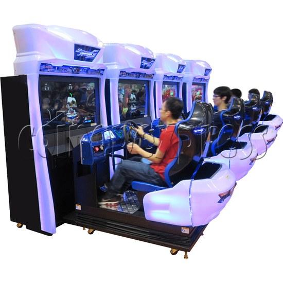 Storm Racer G Deluxe Arcade Machine 34586