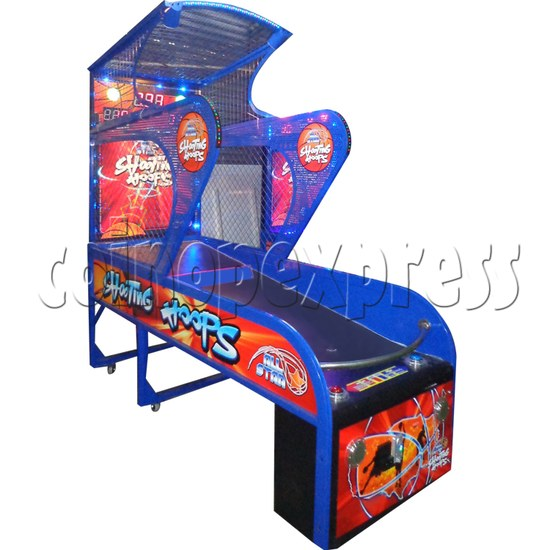 Shooting Hoops basketball machine 34610