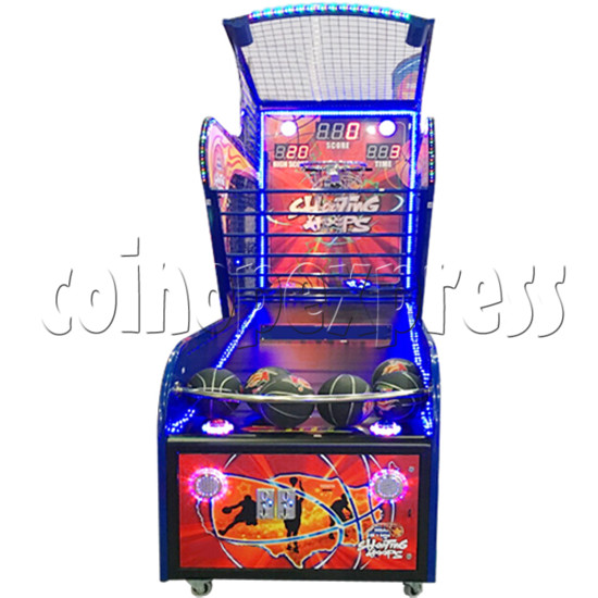 Shooting Hoops basketball machine 34611