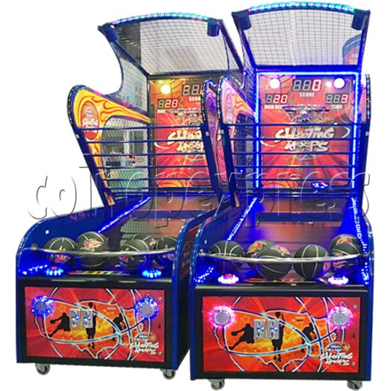 Shooting Hoops basketball machine 34612